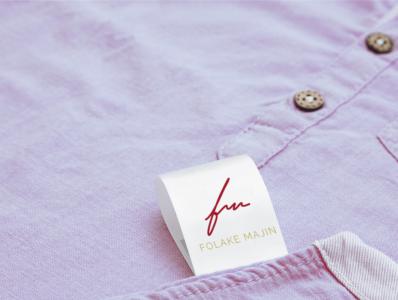 Folake Majin Rebrand rebrand design logo illustration brand mark affinity serif branding agency brand design affinity designer branding logo design fashion brand fashion