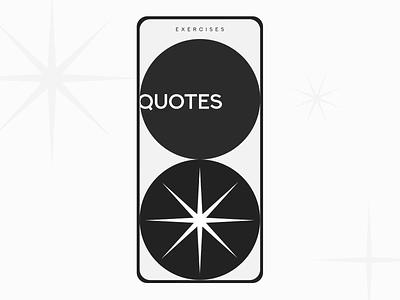 Meditation App Animation minimal app mobile ux minimalism meditation typography gradient design concept black and white app design graphic design animation ui