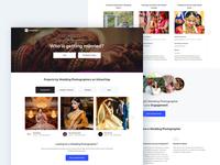 Wedding Photographers Landing Page on UrbanClap