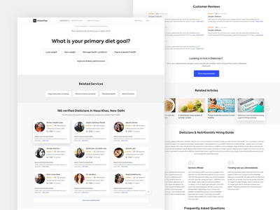 SEO Landing Page Template By Amit Das Dribbble - Seo landing page template