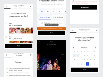 Question Templates on Mobile Web (and introducing Design System)