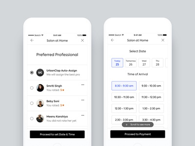Separating address and scheduler in our platform + new forms