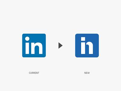 Linkedin concept creative redesign monogram brand identity brand design logotype symbol minimal logo design logo concept identity graphic design branding