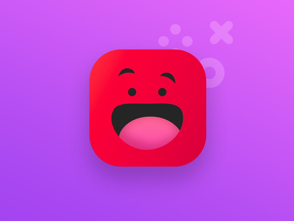 Yepah! app icon gaming red app icon startup