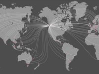 International Shipping Map