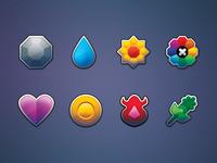 Pokemon Gym Badges (Kanto)