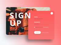 Daily Ui 001 Sign Up (.sketch)