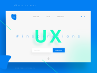 Daily Ui 003 Landing Page (.sketch)