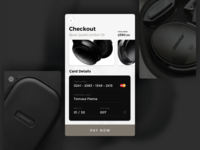 Daily Ui 002 Credit Card Checkout (.sketch)