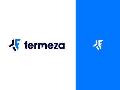 Fermeza expedition construction road type simple logotype logo identity font flat branding
