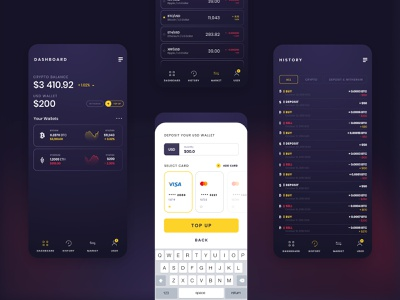 OSOM Crypto Wallet crypto exchange crypto wallet stepwise ethereum bitcoin cryptocurrency crypto mobile app payments wallet