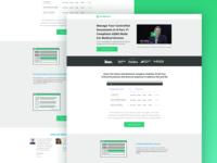 Medical SaaS Landing Page