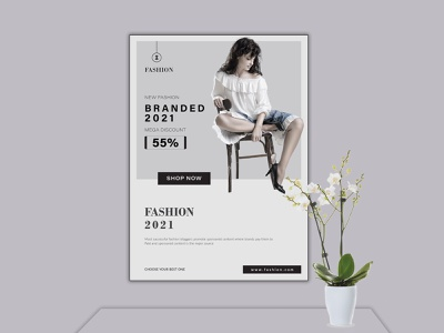 FASHION FLYER DESIGN brochure template typography brochure design illustration flyer design branding design