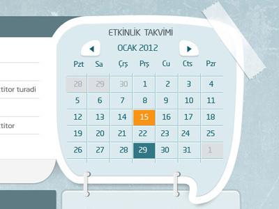 Sancaktepe Belediyesi / Genc Gelecek sancaktepe musab musab ben genç genc takvim calendar ui web