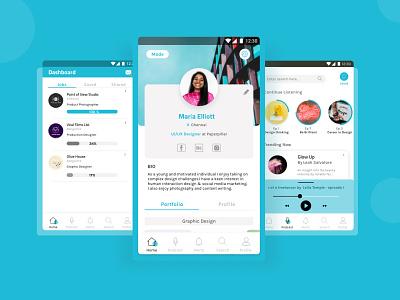 Design Dock - job portal for designers mobile mobile ui mobile app design app design app ux research freelancer jobs job portal case study ux case study ux ui