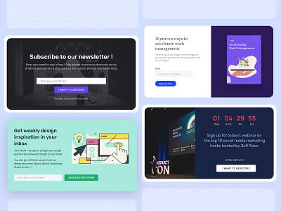Popup design uiux ui design ux design popup design popup website landing page conversion centric design ux ui