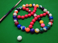 Dribbble Billiards