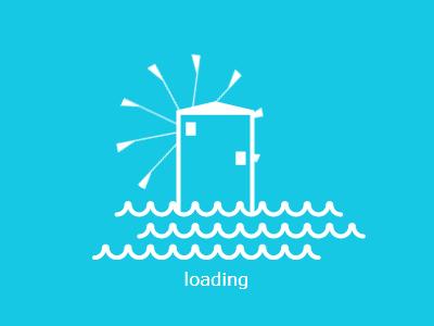 paroshouses.com css3 animation illustration windmill