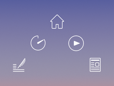 News app Icons icons ios app home timer media editor news