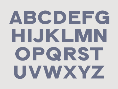 Latin characters geometric capitals font type sans typography