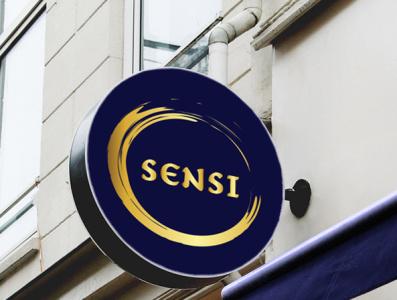 sensi logo design logo design vector logotype logodesign logotipo minimal logo design corporate identity branding