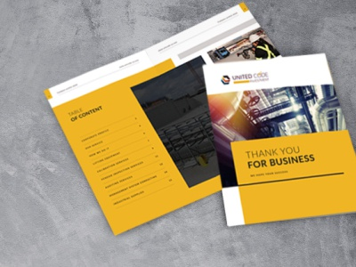 brochure design united code brochure mockup brochure layout brochure branding