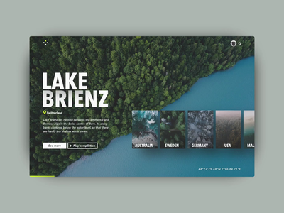 Drone Images Webdesign interface motion invisionstudio rotato cards images animation desktop ui webdeisgn drones