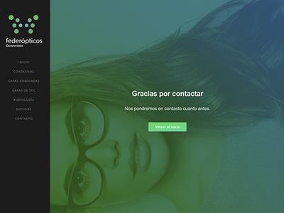 Success contact web visual webdesign design flat ux ui