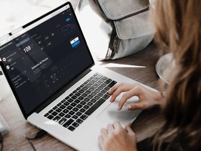 Sale Market Dashboard flat web design interface ui ux ux design