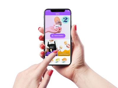 Gelato App app design ux ui
