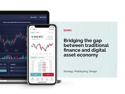 Blockchain Exchange icon vector branding ui illustration ux typography minimal logo design app