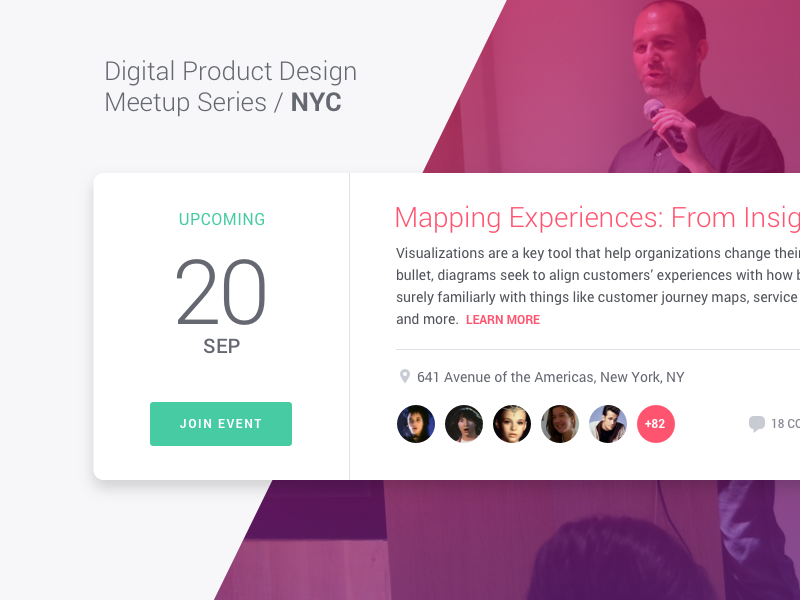 Digital Product Design Meetup by Charly Prioglio for Theorem