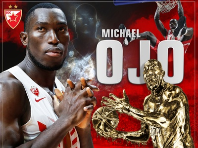 Michael Ojo poster design scartdesign graphicdesign graphic red star ojo
