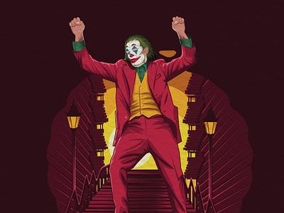 Joker - Faomus person edited scartdesign graphicdesign graphic illustrator character joker