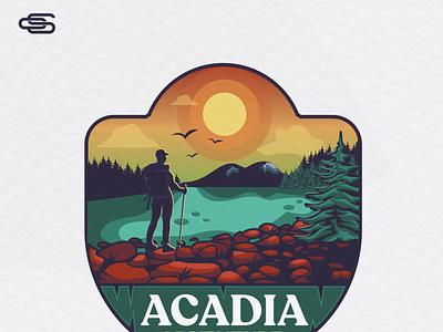 Acadia logo design scartdesign acadia logodesign logo