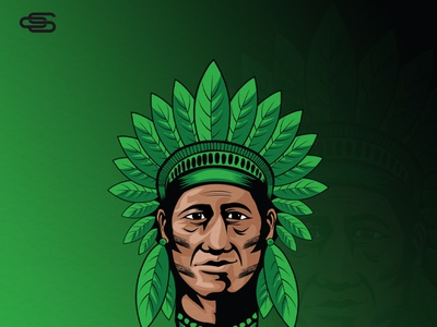 Indian leaf logo design scartdesign logo design leaf logo leaf indian