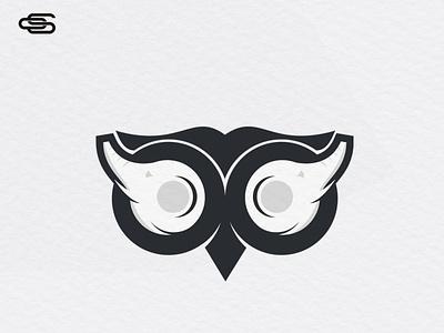 Owl elephant logo design scartdesign design logo owl elephant logo elephant