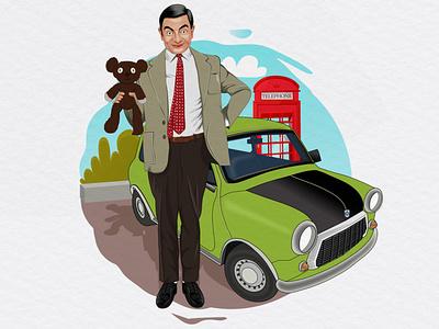 Mr Bean - Faomus person edited scartdesign editorial design person editorial mr bean