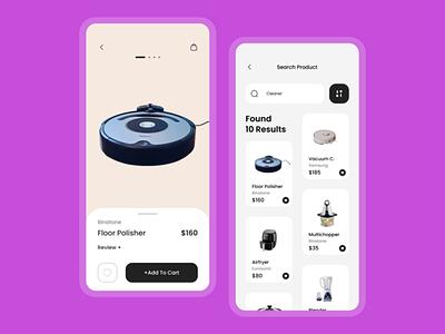 Kamp . Electric Appliances website product website design uiux