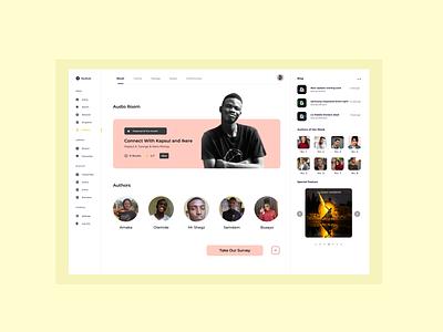 Bookshy . Author's Page app illustration graphic design figma design ui website