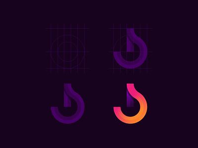 BomVid animation 3d graphic design vector software ux ui branding modern logo illustration icon design colorful app entertainment video music bmonogram blogo