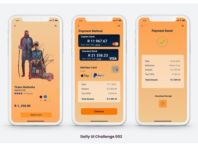 Daily UI challenge 002 credit card checkout culture uidesign dailyuichallenge dailyui daily 100 challenge