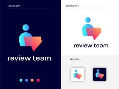review team logos trend logo logo designer suggest online call colaboration corals company team work monitoring review teams creative branding business company brand identity