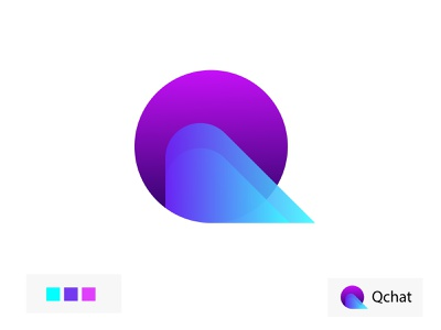 Q chat app icon  q letter icon   q letter logo logodesign q letter logo design concept modern logo abstract logo gradient logo q letter logo logo design chat apps icon creative business company branding brand identity
