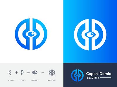 security logo l professional mark simple logo creative logo modernism modern cd mark letter d letter c lettering security mark security proffesional logo business company branding brand identity