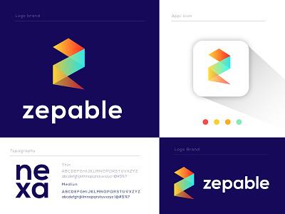 z letter logo l modern logo l mark z logo modern logo gradient logo redesign logodesign logos moderm corporate logo 2020 logo designer smart logo creative business company brand identity