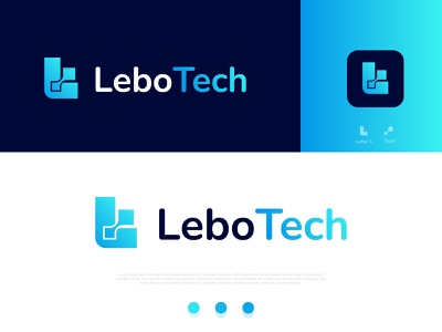 modern tech company letter logo design l tech brand mark letters trend hirelogo designer logo brand mark logo logos branding experiment startup technology tech logo concept smart logo logo mark modern logo gradient recent logo creative business company branding brand identity