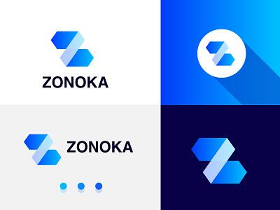 Modern z letter logo Mark logo motion graphics graphic design smart logo design illustration logo designer business company creative branding brand identity recent logo