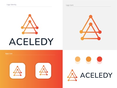 modern tech logo design tech mark typo 3d illustration monogram brand mark platform tech technology software graphic design smart logo creative business company branding brand identity