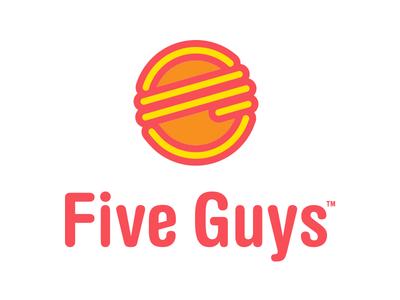 Five Guys Logo Redesign Concept